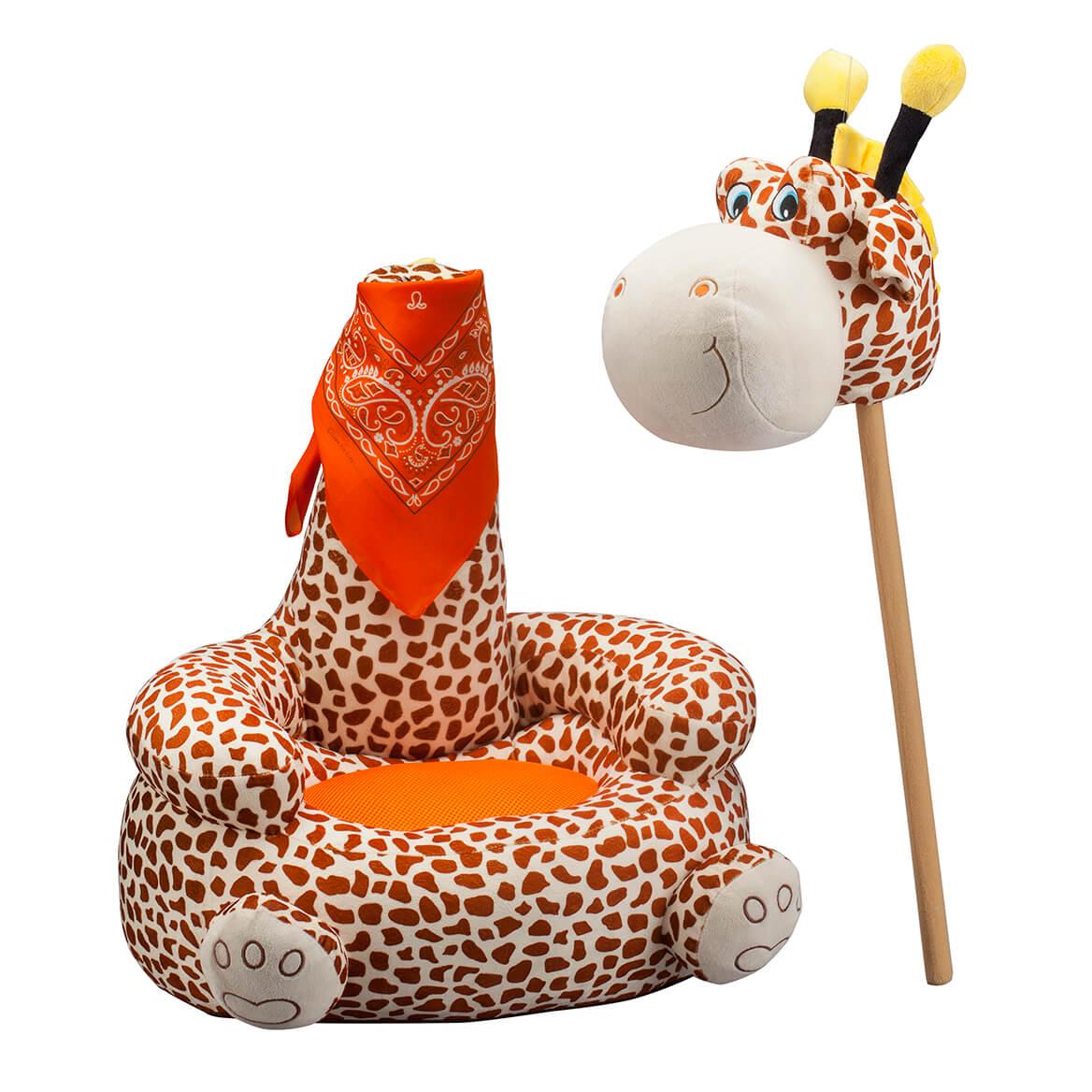 Children's 2-in-1 Giraffe Chair with Bandana-366401