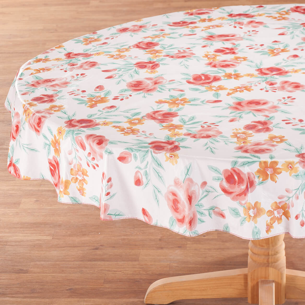 Watercolor Vinyl Table Cover by Home Style Kitchen-366972