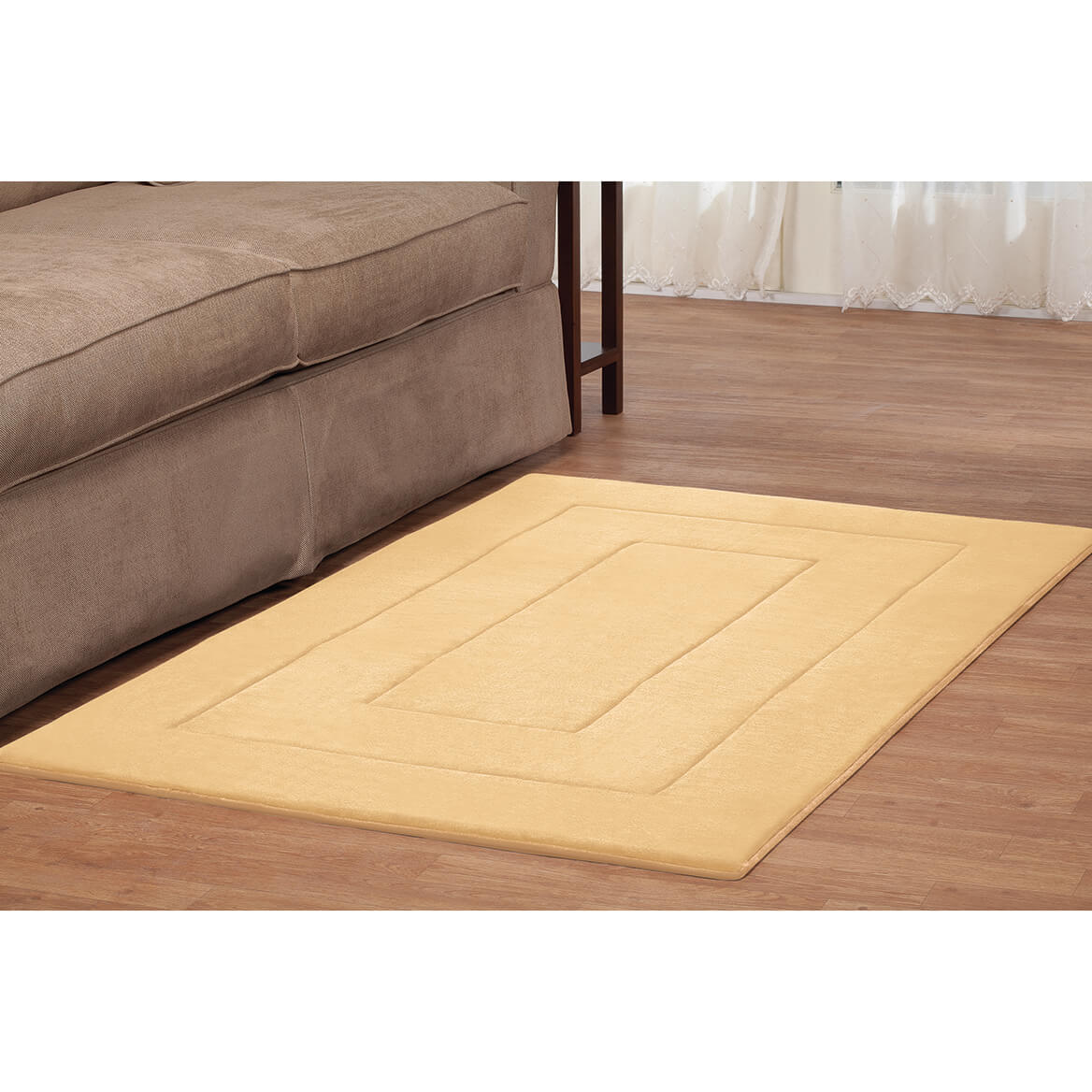 Memory Foam Straight Border Mat     XL-367012