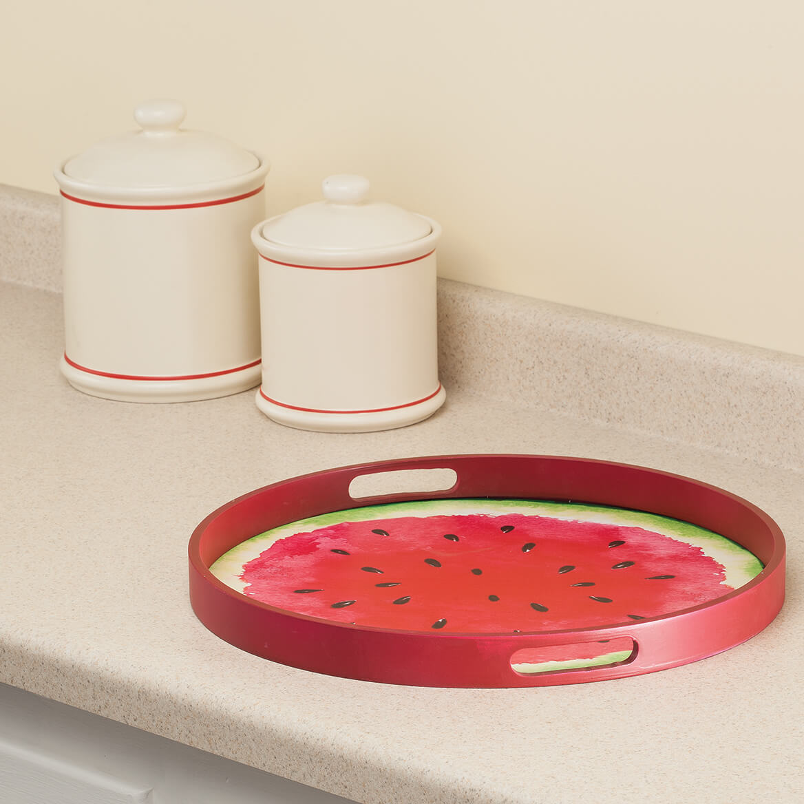 """William Roberts 12"""" Watermelon Serving Tray-367144"""