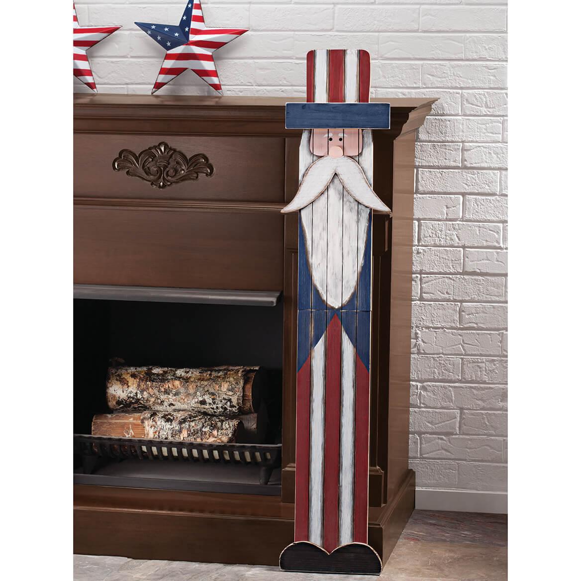 Uncle Sam Folding Wood Sign-367353