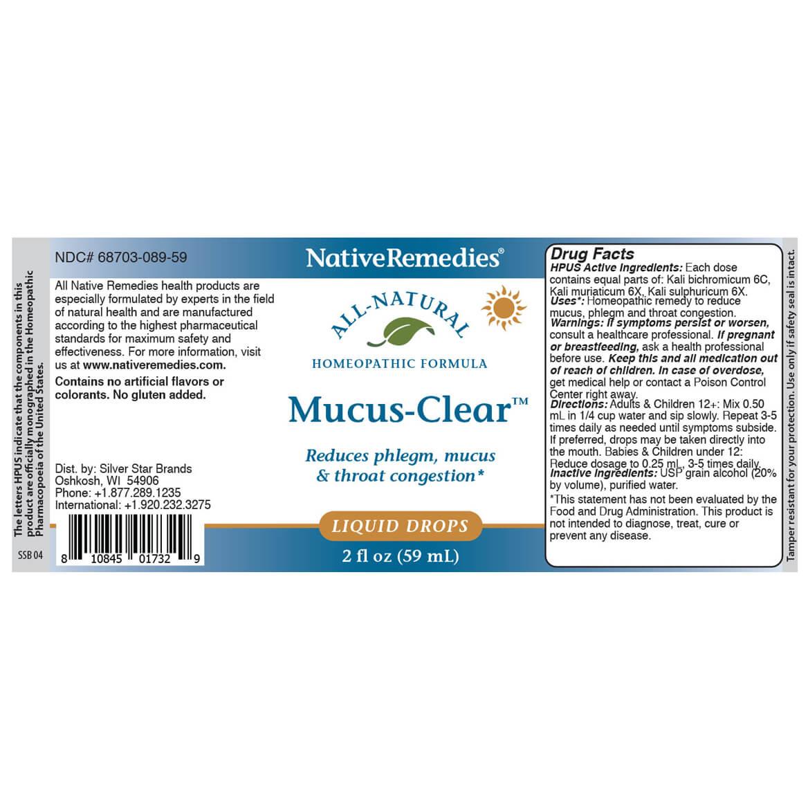 NativeRemedies® Mucus-Clear™ ComboPack-367460