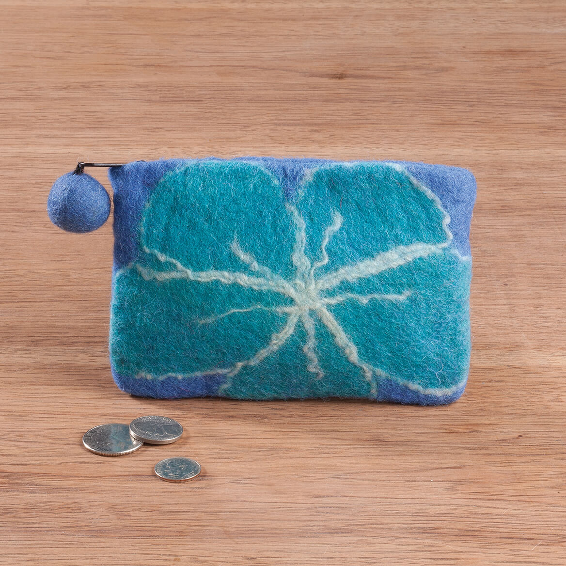 Felted Wool Coin Purse-367479