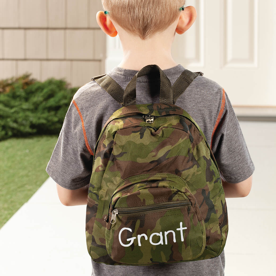 Personalized Mini Camouflage Backpack-368047
