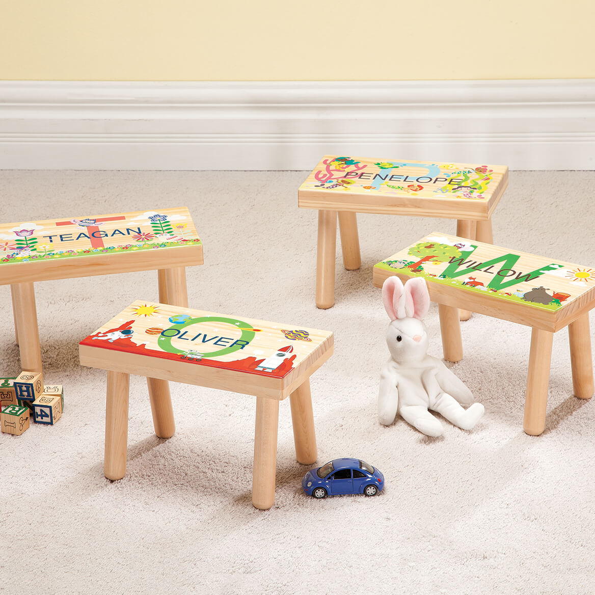 Personalized Under the Sea Children's Step Stool-368054