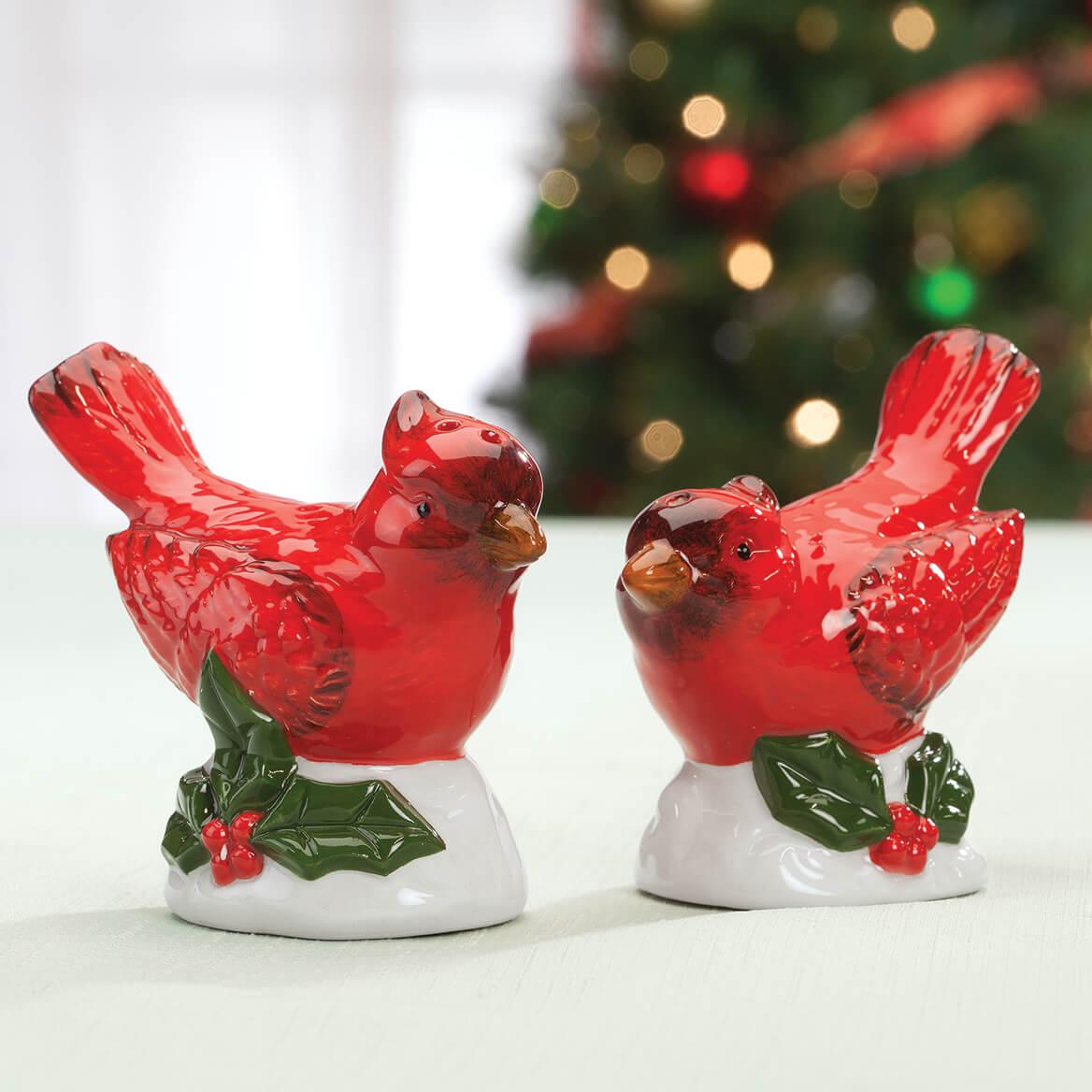 Cardinal Salt and Pepper Shakers-368069