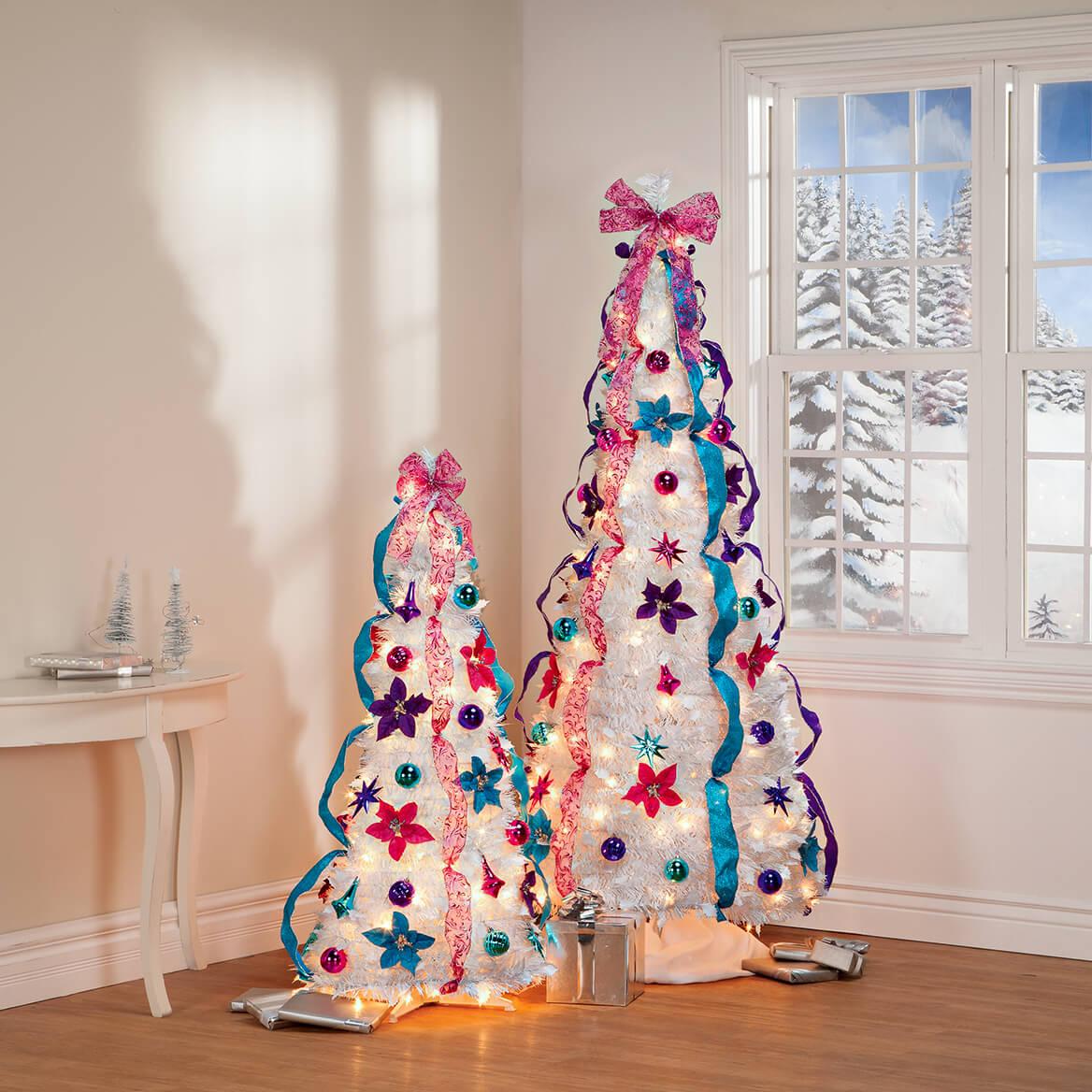 6' Jewel Tone Pull Up Tree by Holiday Peak™    XL-368146
