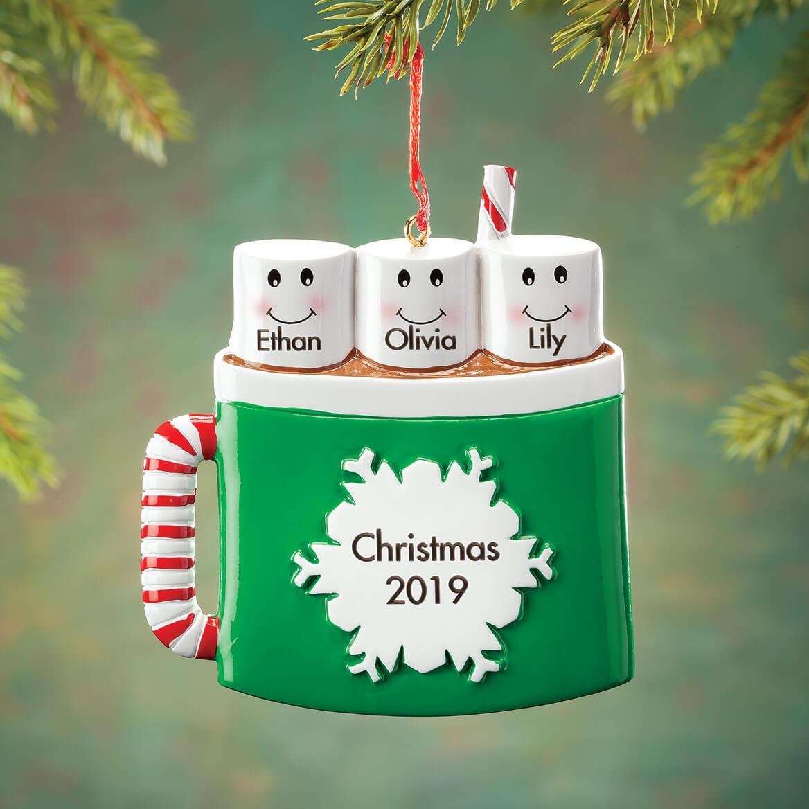 Personalized Cocoa Mug Family Ornament-368181