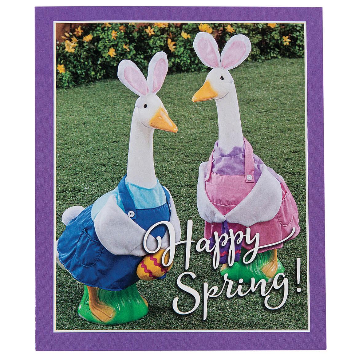 Seasonal Geese Notecards Set of 24-368323