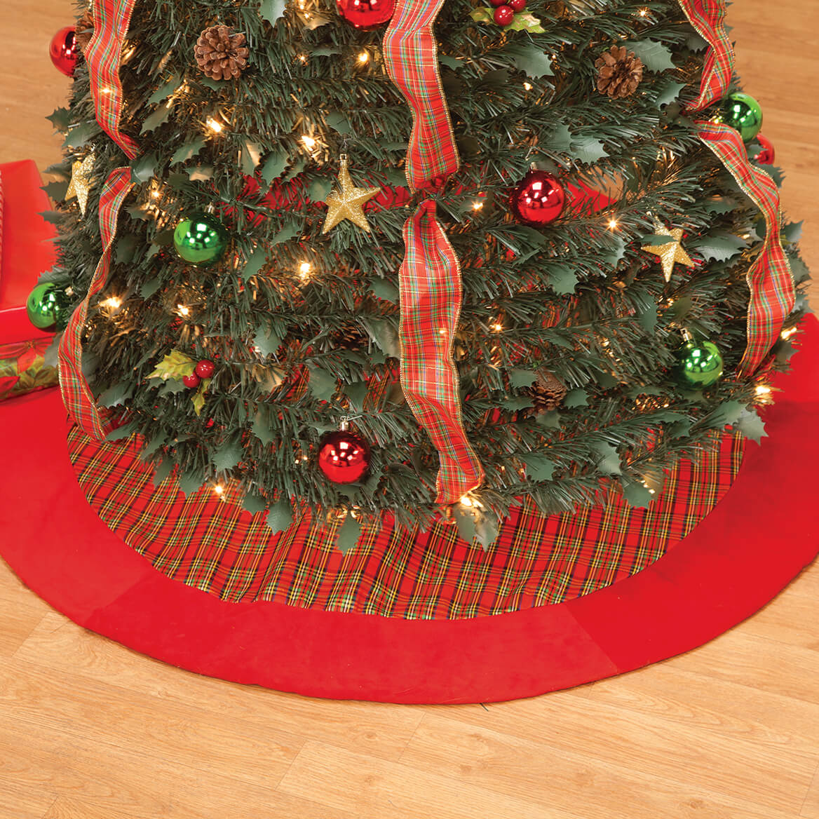 Plaid Tree Skirt by Holiday Peak™-368368