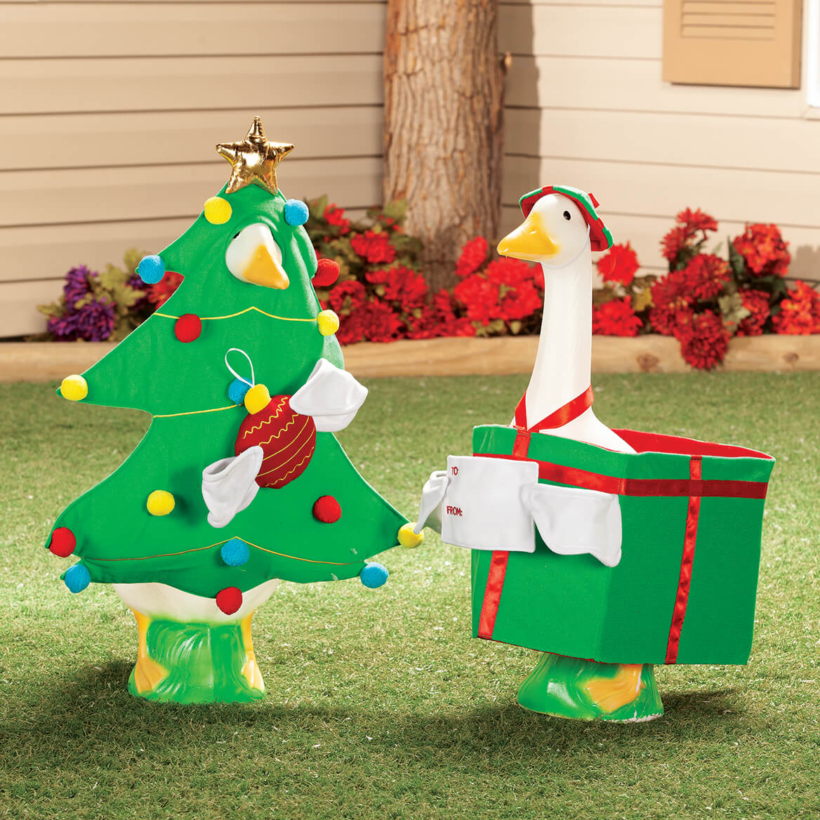 Christmas Tree Goose Outfit-368383