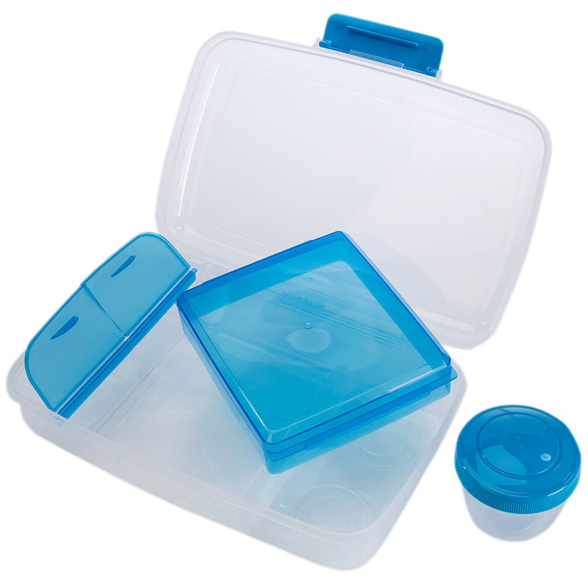 4 Section Bento Lunch Box By Chef's Pride-368394