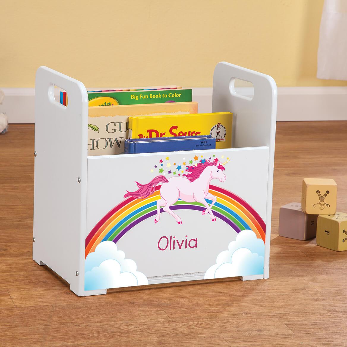 Personalized Unicorn Books Caddy-368446