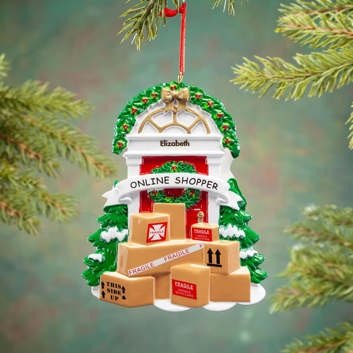 Personalized Online Shopper Ornament-368534