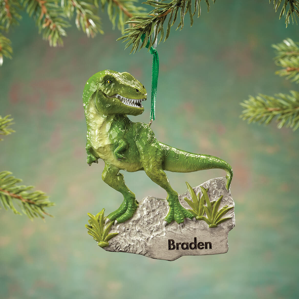 Personalized T-Rex Ornament-368536