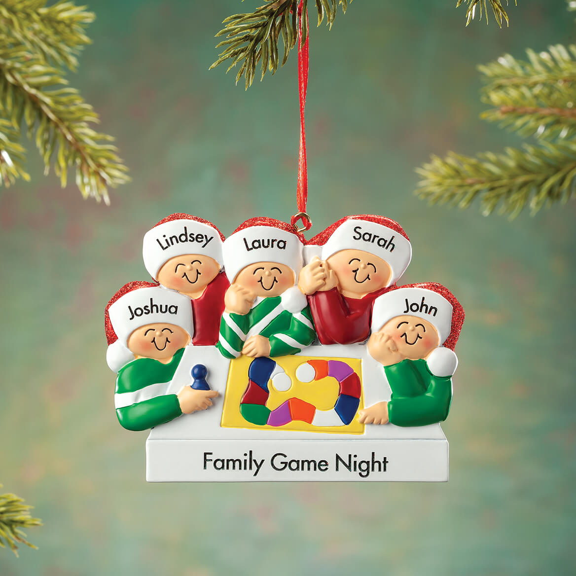 Personalized Board Game Family Ornament-368555