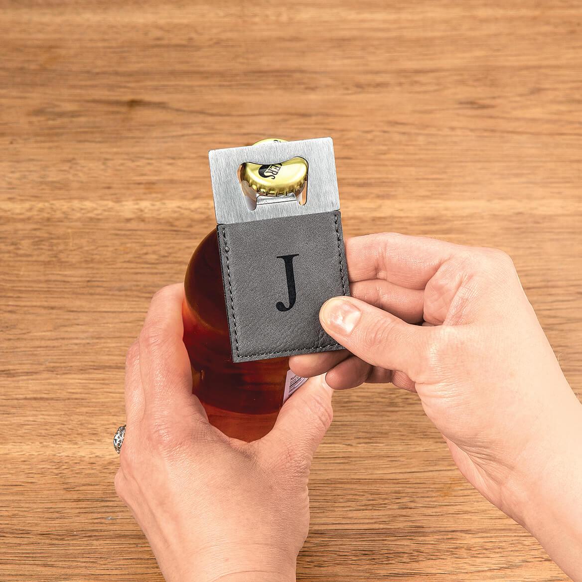 Personalized Gray Bottle Opener-368574