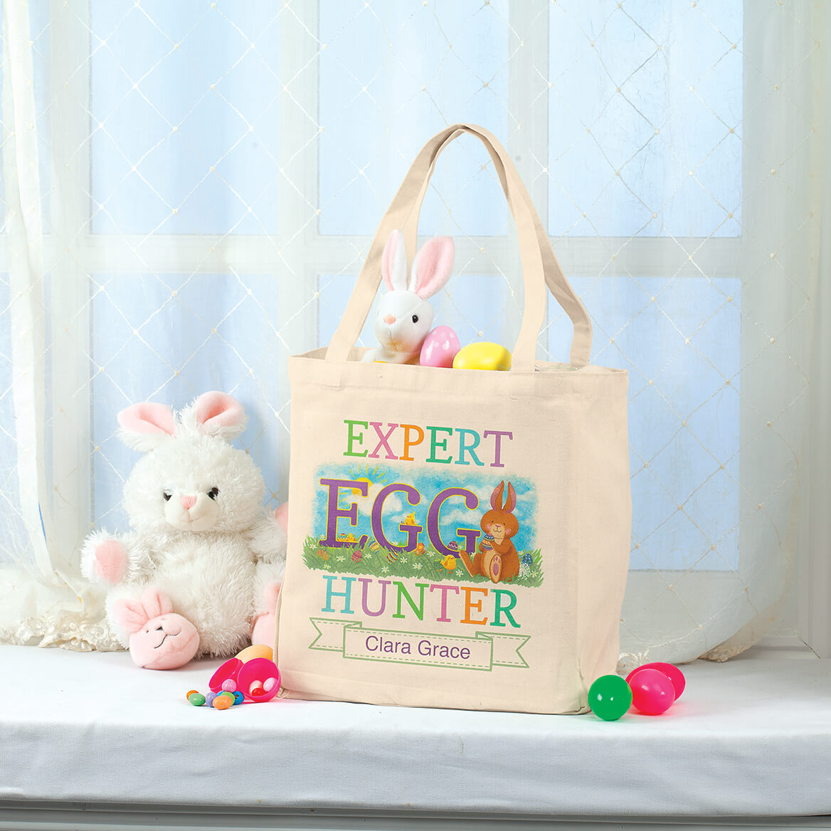Personalized Egg Hunter Tote Bag-368720