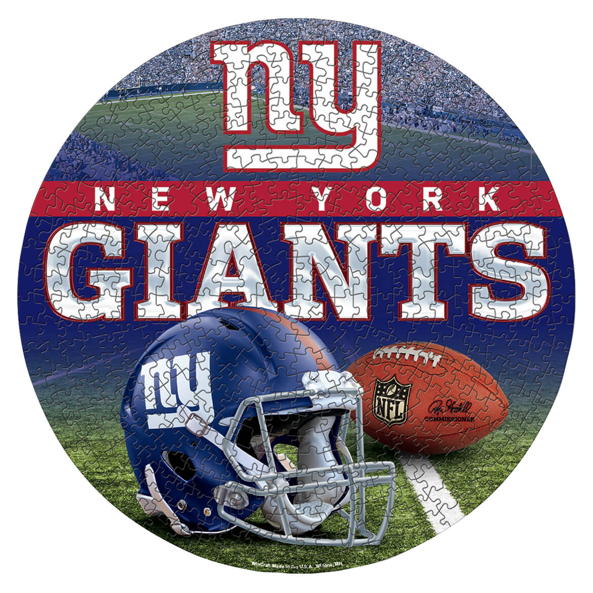 NFL Team Round 500-Pc. Puzzle-368845