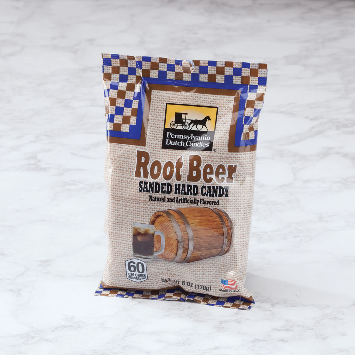 Rootbeer Sanded Candy, 6 oz.-368926
