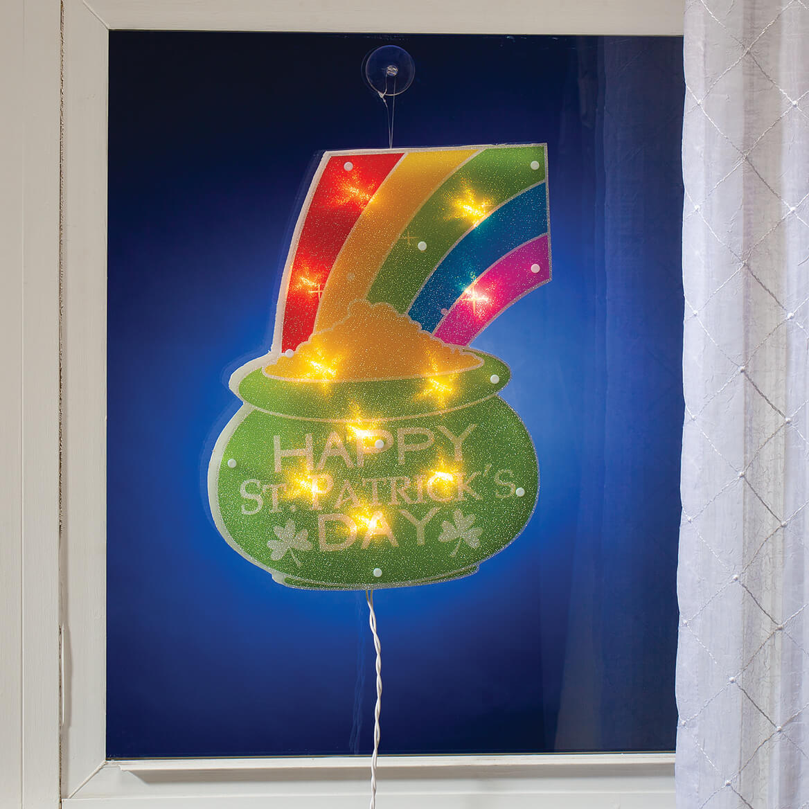 Happy St. Patrick's Day Shimmer Light-369003