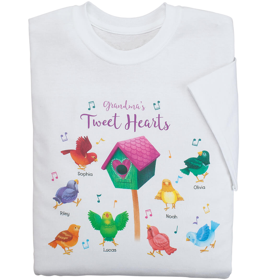 Personalized Tweet Hearts T-Shirt-369028