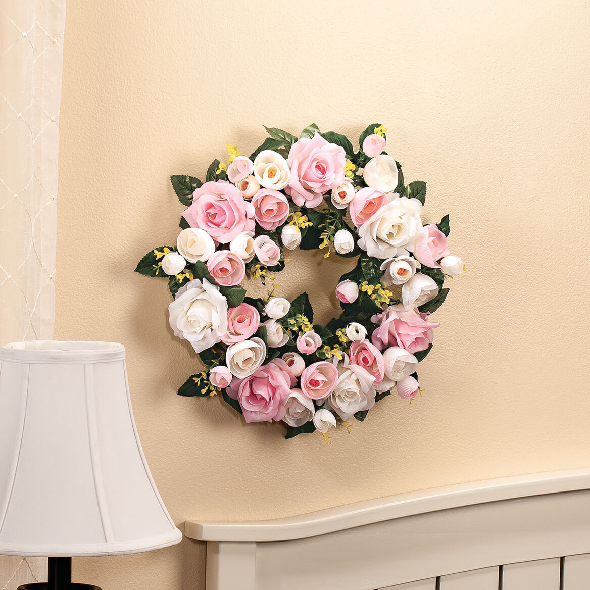 Vintage Rose Wreath by OakRidge™-369050