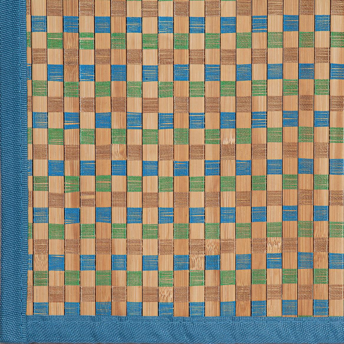 Checked Bamboo Runner by Oakridge®-369113