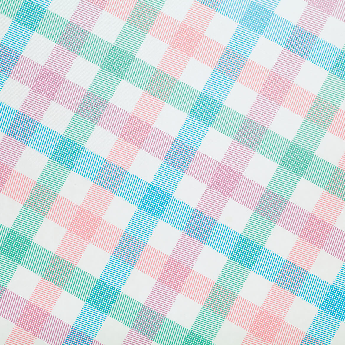Spring Breeze Checked Vinyl Tablecovers-369144
