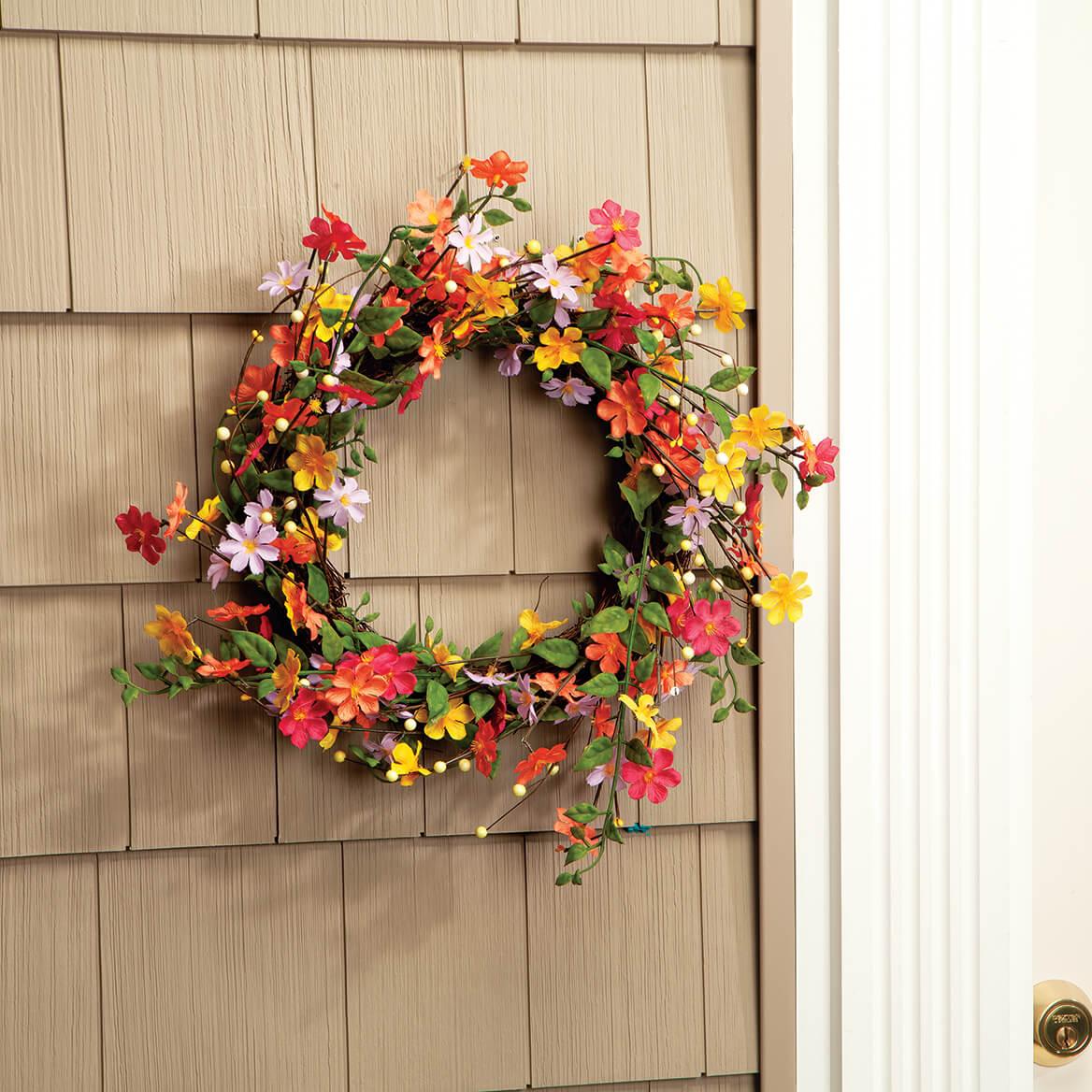 Wildflower Twig Wreath by OakRidge™-369204