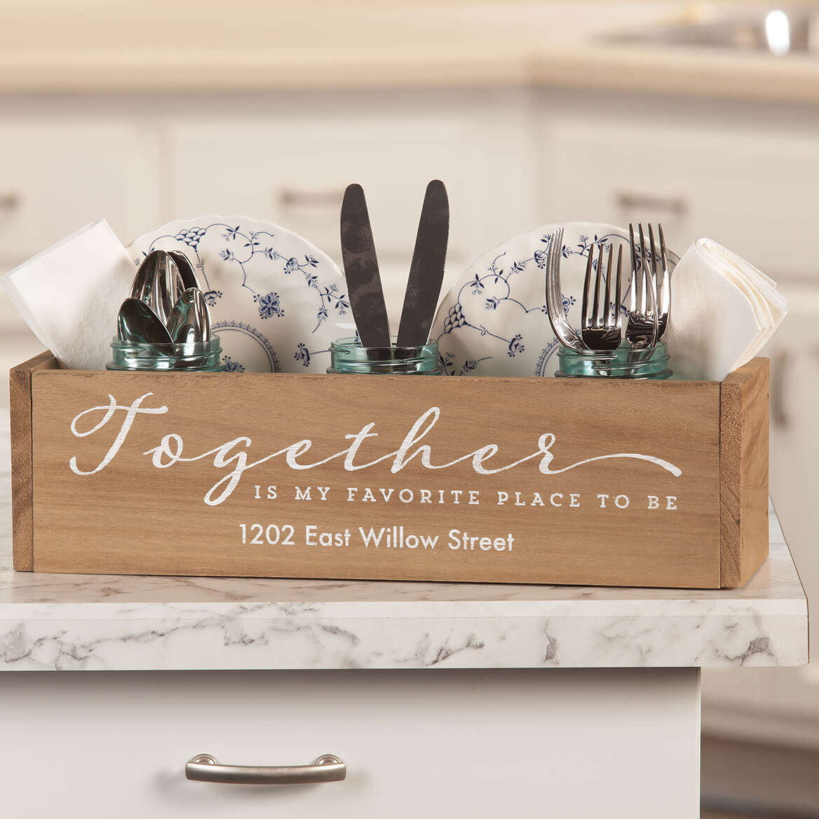 Pers Wooden Planter Box, Together is My Favorite Place to Be-369262