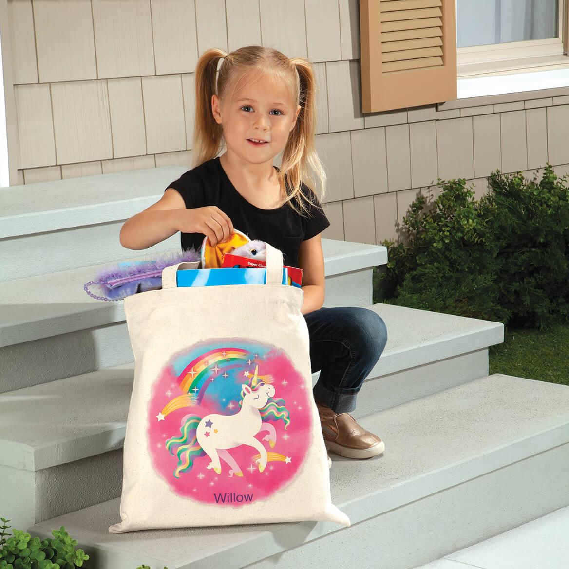 Personalized Unicorn Children's Tote-369269