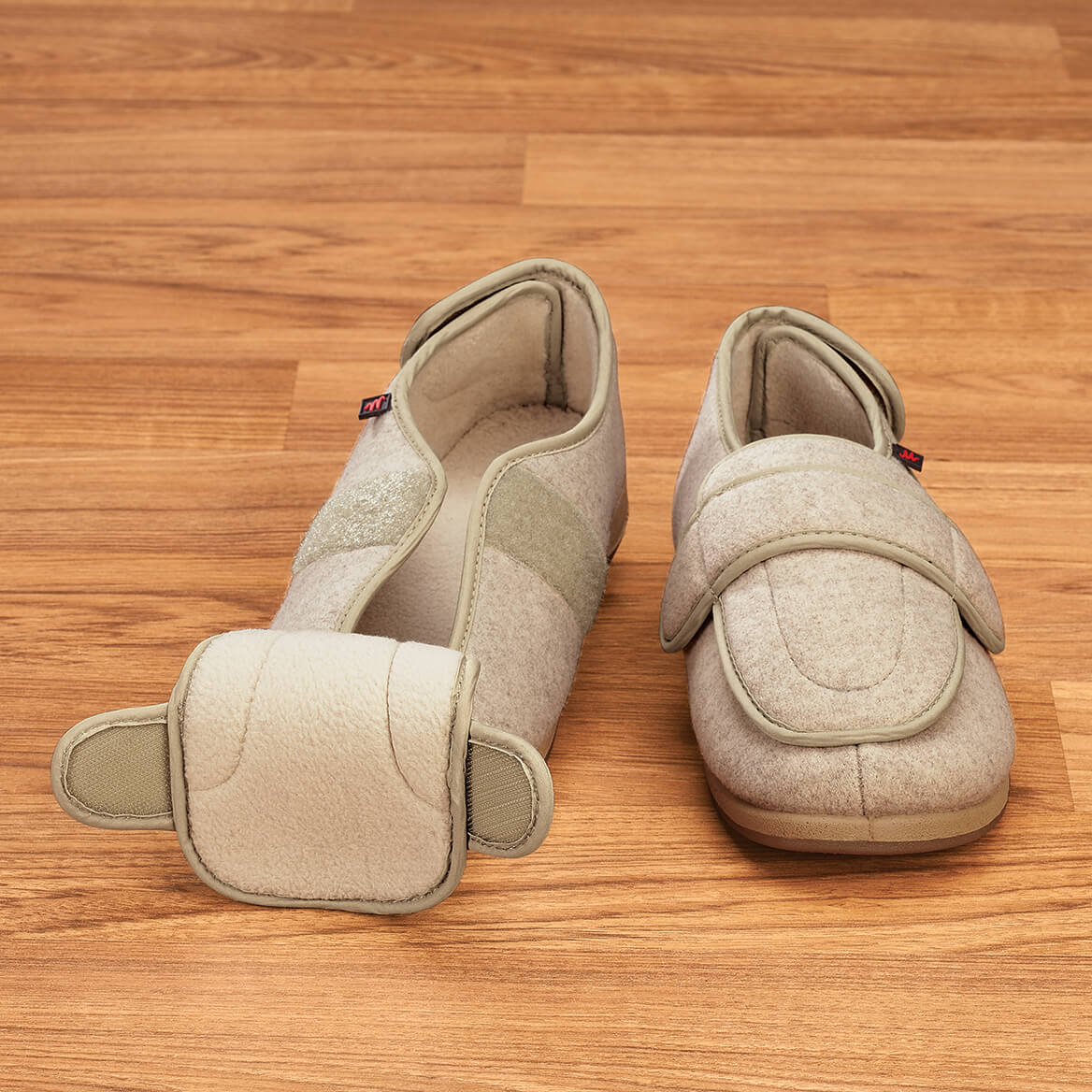 Silver Steps™ Adjustable Edema Slippers-369287