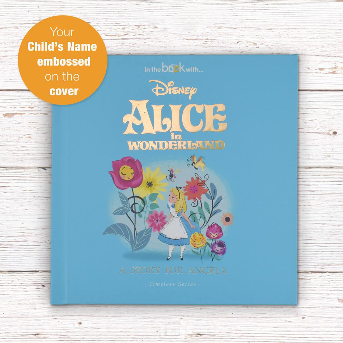 Personalized Timeless Alice In WonderlandBook-369418