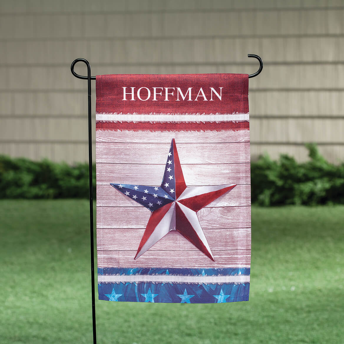 Personalized Barn Star Garden Flag-369488