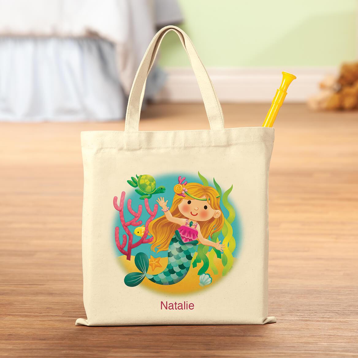 Personalized Mermaid Tote-369512
