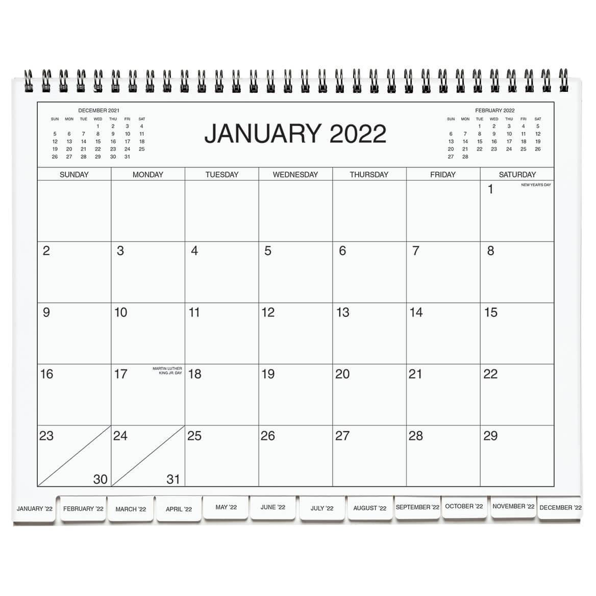 3 Year Calendar Diary 2022- 2024  Blue-369607