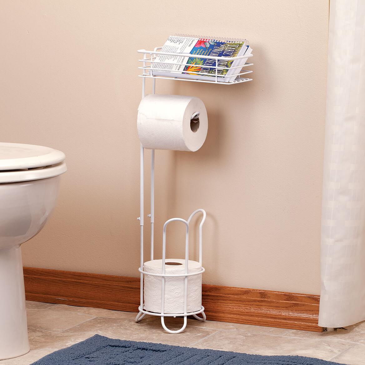 Bathroom Roll and Phone Holder-369619