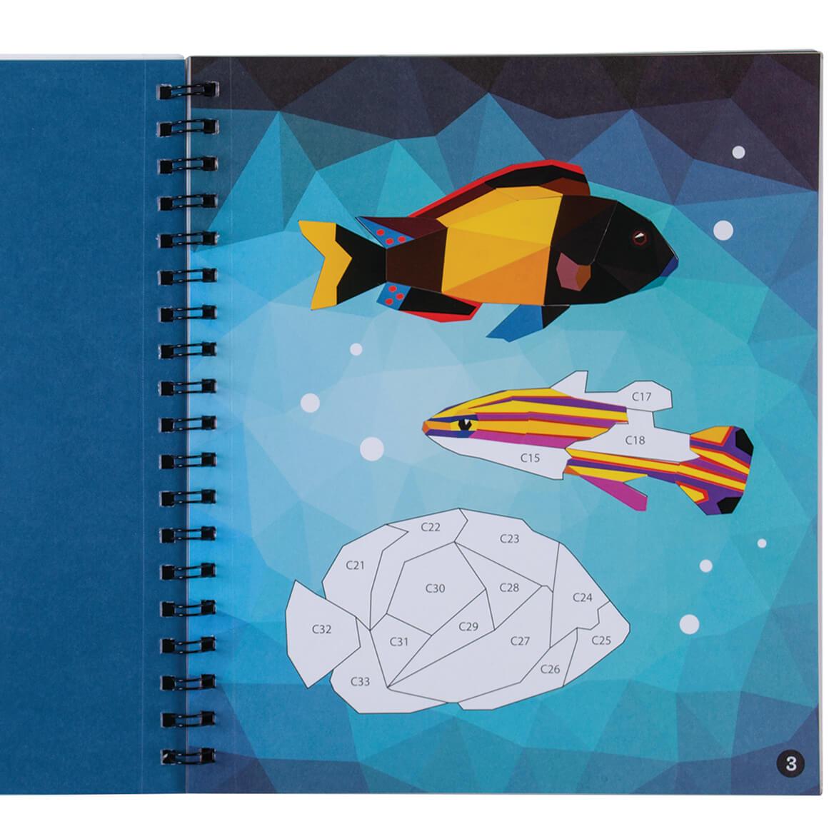 Brain Games® Sticker By Number Ocean Treasures-369624