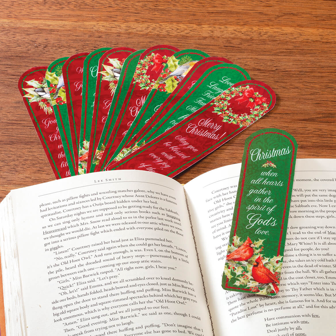 Christmas Blessings Bookmarks, Set of 12-369625