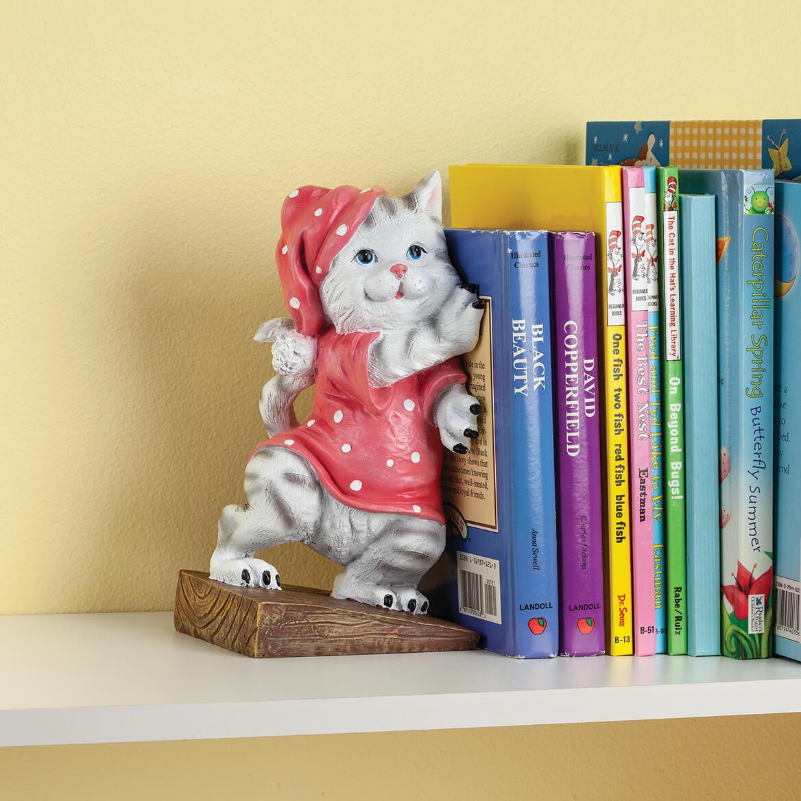 Whimsy Kitty Resin Doorstop-369627