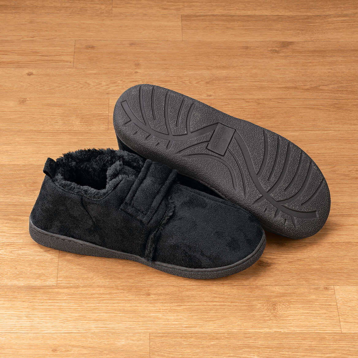 Diabetic Comfort Slippers Mens-369906