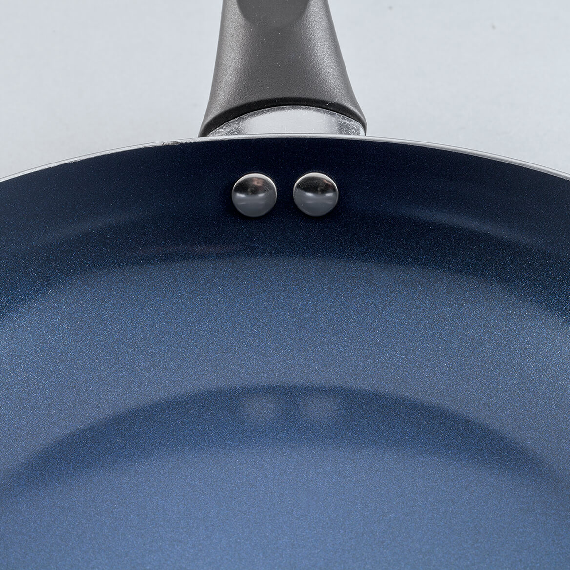 Sapphire Ceramic Fry Pan, Set of 2, by Home Marketplace-370369