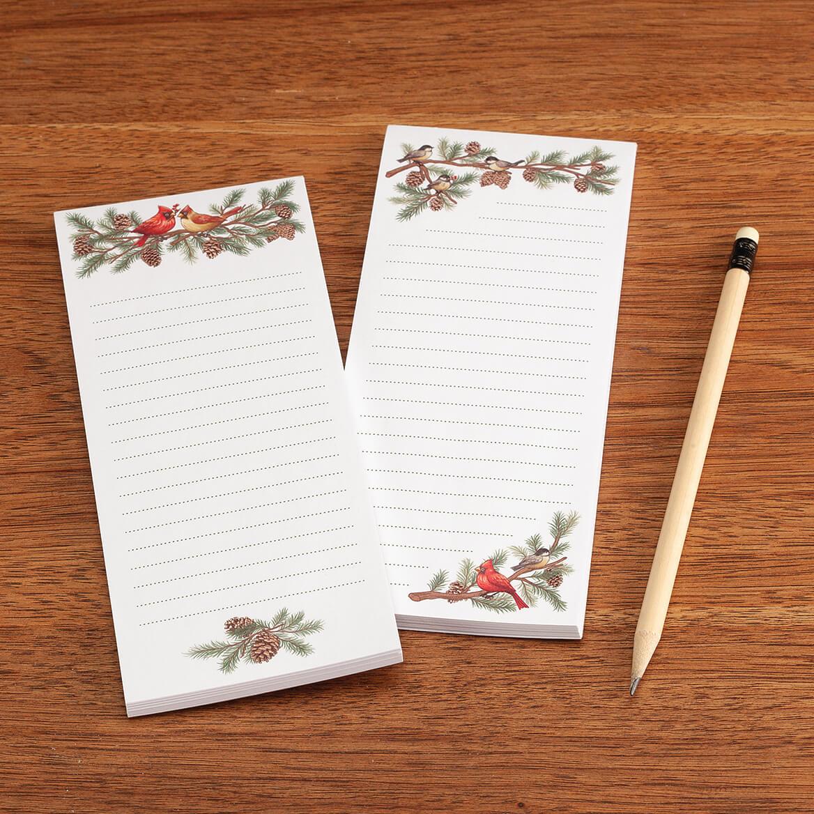 Set of 2 Winter Birds Note Pad-370464