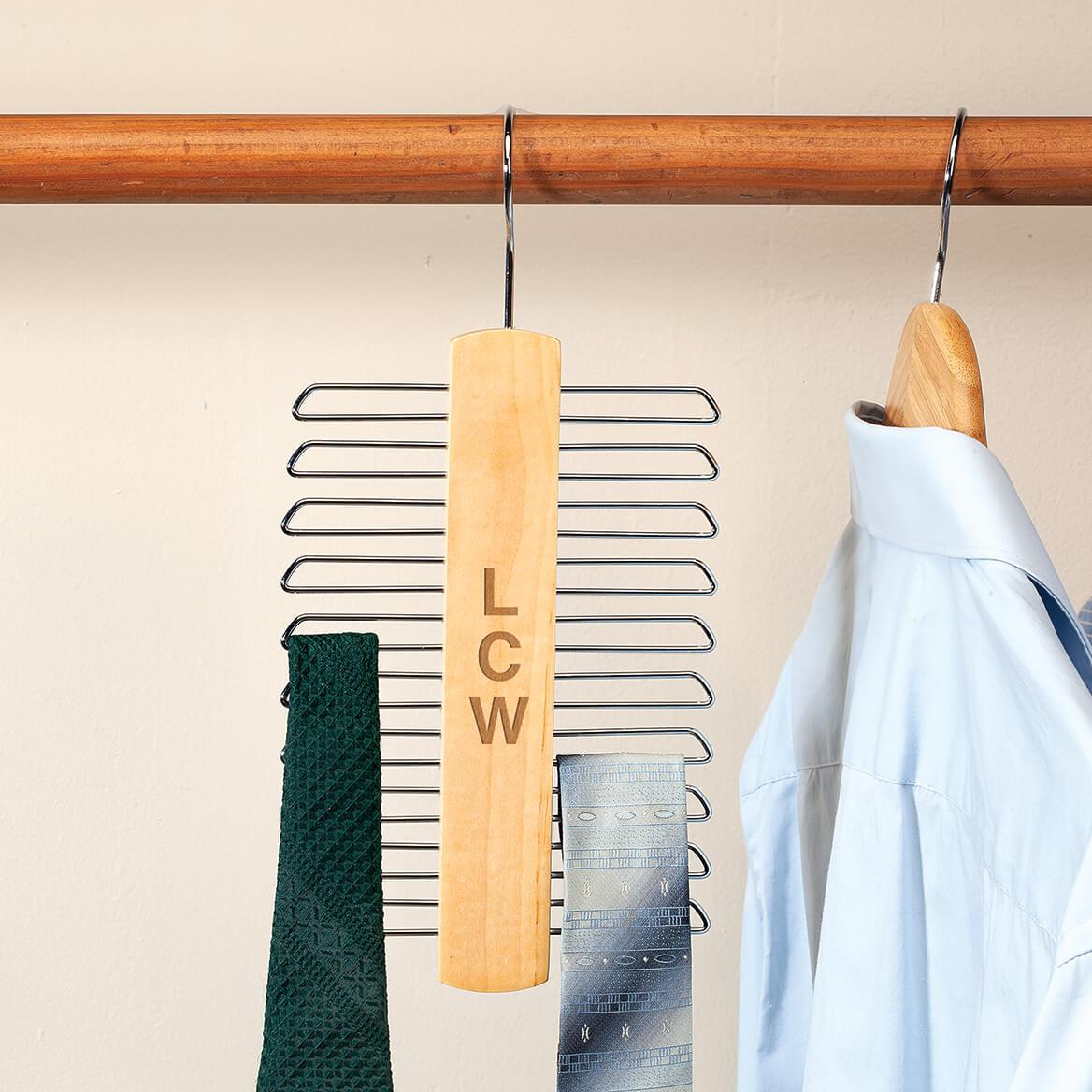 Personalized Tie & Belt Hanger-370505