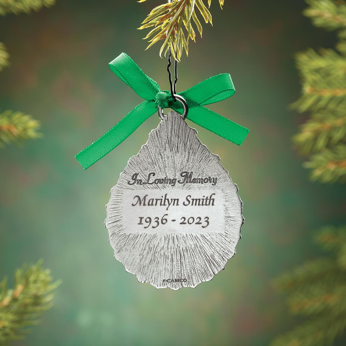 Personalized Pewter Irish Memorial Ornament-370532