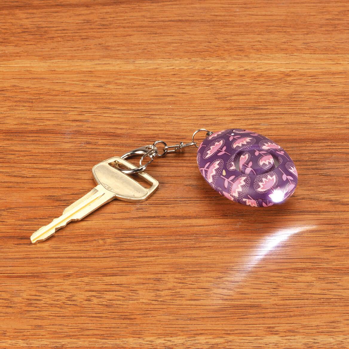Mini Key Chain LED Flashlight & Alarm-370560