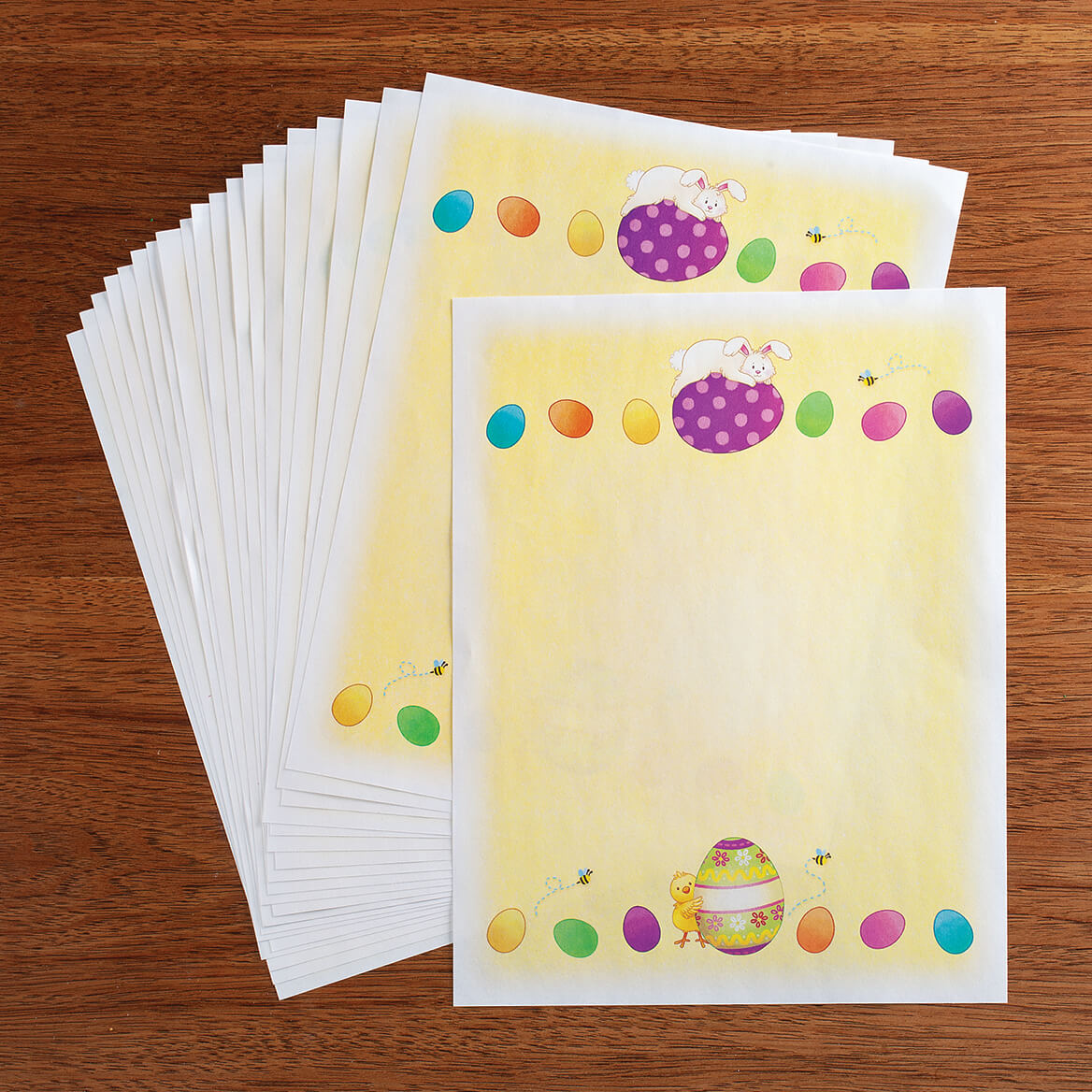 Children's Easter Stationery Sheets, Set of 20-370647