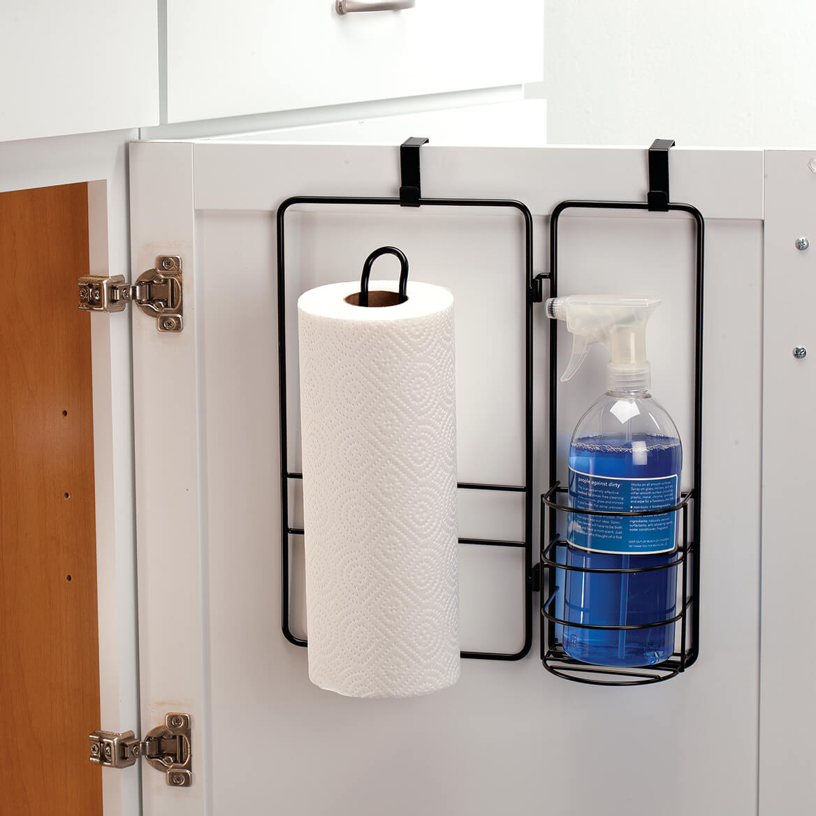 Over Cabinet Door Cleaning Organizer-370750