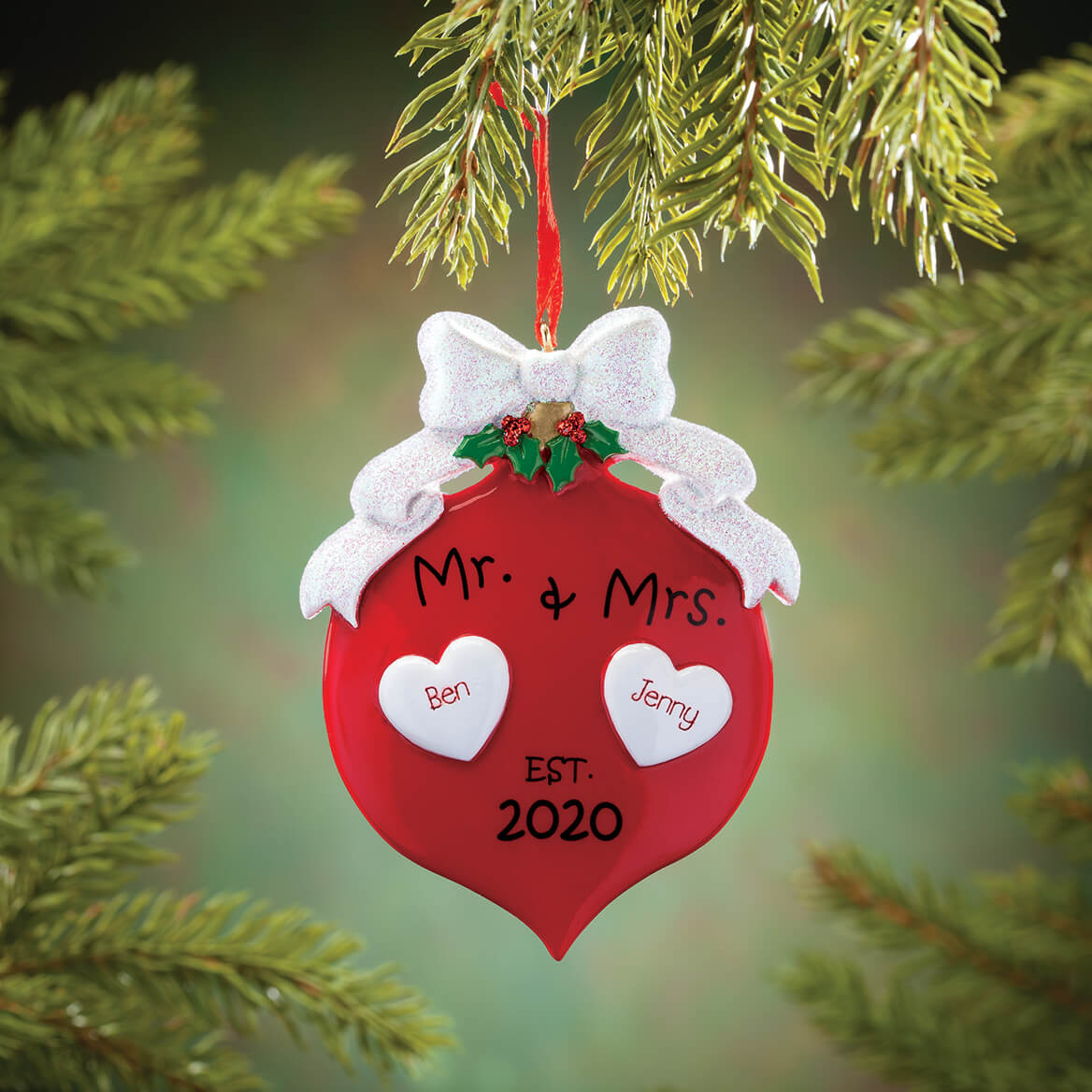 Personalized Mr. & Mrs. 2020 Ornament-370770
